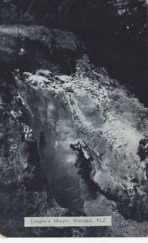 WAIRAKEIU, New Zealand, 1900-1910's; Dragon's Mouth