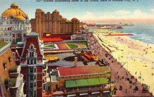 New Jersey Atlantic City Looking North 1946