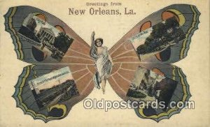 Greetings from New Orleans, LA, USA  Horse 1913 corner wear