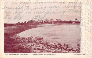 Sachem's Head Connecticut Vineyard Point Scenic View Antique Postcard J63554