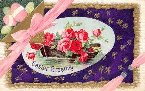 Holiday Easter Post Card Old Vintage Antique Unused