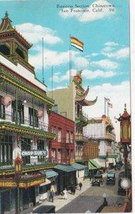 California San Francisco Chinatown Business Section Street Scene sk3892