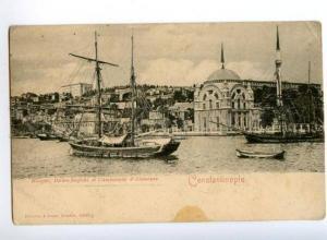 173464 TURKEY CONSTANTINOPLE Dolma-Bagtche & ships Vintage