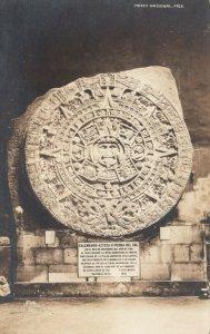 RP; Aztec Calendar , Mexico , 30-40s