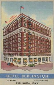BURLINGTON , Iowa , 1930-40s ; Hotel Burlington