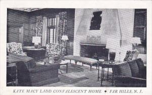 New Jersey Far Hills Kate Macy Ladd Convalescent Home 1968