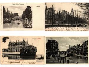 LEIDEN HOLLAND NETHERLANDS 220 CPA Pre-1940
