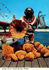 Sponge Diver Tarpon Springs Florida