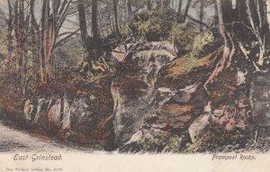 EAST GRINSTEAD , Sussex , England , 1904 ; Frampost Rock