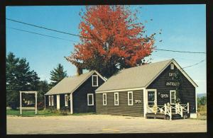 Ossipee, New Hampshire/NH Postcard, The Bakers Peel Antiques