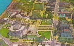 Aerial View Looking East Jefferson City Missouri