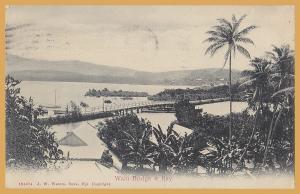 Suva, Fiji, Walu Bridge & Bay - 1909