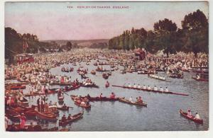 P979 old card the regatta boats henley-on-thames england held since 1839