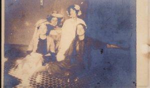 Four Women dressed in costumes RPPC 1910