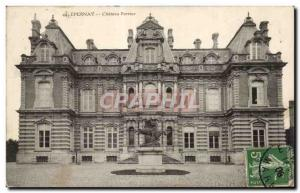 Old Postcard Epernay Chateau Perrier