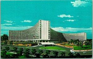 Washington, DC Postcard THE WASHINGTON HILTON Artist's View Curteich Chrome