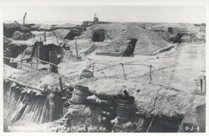 RP: FORT HELL , Virginia ,1930-40s ; Bombproof Quarters