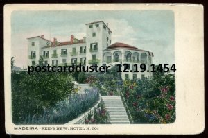 1454 - PORTUGAL Madeira 1900s Reid's New Hotel