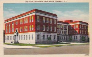 South Carolina Columbia Richland County Court House