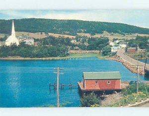 Pre-1980 BUILDING ON SHORELINE Mabou On Cape Breton Island Nova Scotia NS AD6078