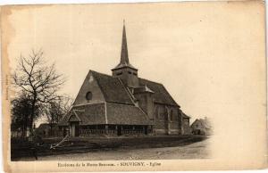 CPA Env. de la MOTTE-BEUVRON - Souvigny - Église (208088)