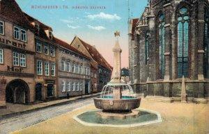 Germany Mühlhausen Im Thale Bismarck Brunnen 04.60