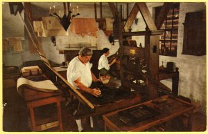 THE PRINTING OFFICE, WILLIAMSBURG, VIRGINIA SEE SCAN  42