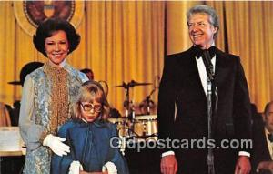 Carter Inauguration, Jan 20, 1977 Postcard Presidential Ball, Rosalynn Carter