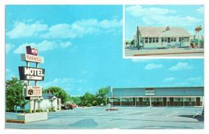 1950s/60s New Parnell Motel & Restaurant, St. Thomas, PA Postcard *5F30