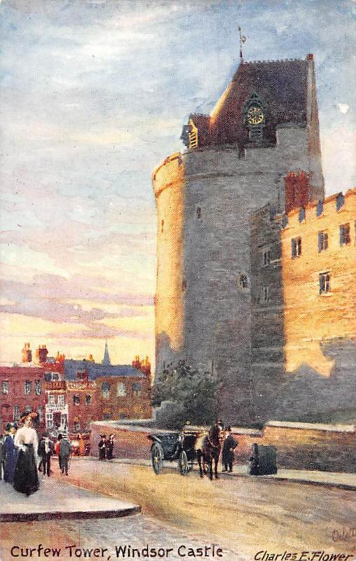 Windsor Castle Curfew Tower Tour Street Horse Carriage