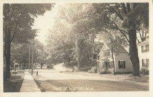 RP; WARNER , New Hampshire , 1940s ; Main Street