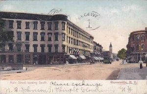 New York Gloversville Main Street Looking South 1907