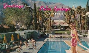 PALM SPRINGS, California, 50-60s; EL MIRADOR HOTEL, Swimming Pool
