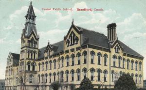 BRANTFORD , Ontario , Canada , 1907 ; Central School #2