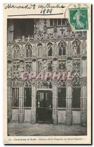 Old Postcard Cathedral of Rodez Closure of the Chapel of the Holy Sepulcher