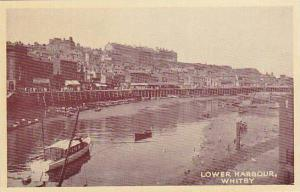 RP; Lower Harbour, Whitby, Scarborough, Yorkshire, England, United Kingdom, 1...
