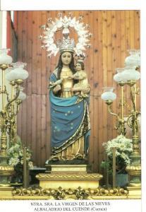 Postal 026698 : Ntra. Sra. La Virgen de las Nieves, Albaladejo del Cuende (Cu...