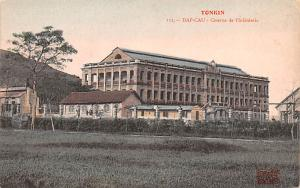 Tonkin Vietnam, Viet Nam Dap Cau, Caserne de I'Infanterie Tonkin Dap Cau, Cas...