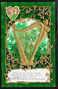Erin's Golden Harp - St Patrick's Series No. 4