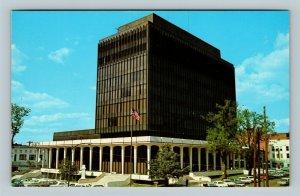 Huntsville AL, Madison County Courthouse, Chrome Alabama Postcard