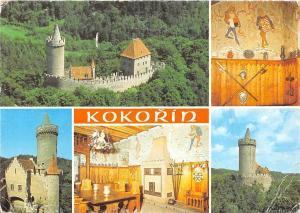Czech R. Kokorin hrad poloviny Burg Castle Chateau