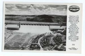 RP Air View of Grand Coulee Dam Washington WA
