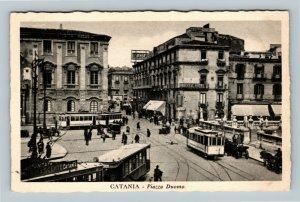 Catania - Piazza Duomo Cartolina Postale Italiana