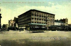 Commonwealth Hotel - Harrisburg, Pennsylvania