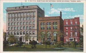 Ohio Toledo Y M C A Elks Club And National Union Buildings