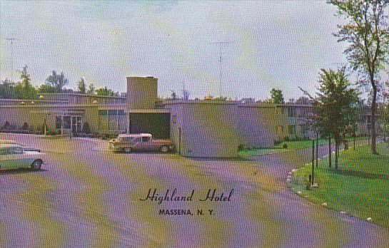 Highland Hotel Massena New York
