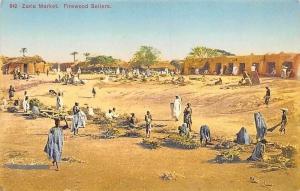 Nigeria Zaria Market, Firewood Sellers, Natives