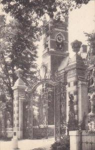 College Hall and Grecourt Gates Smith College Northampton Massachusetts Alber...