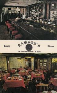 DAWSON CITY , Yukon , Canada , 50-60s ; Dawson´s Restaurant, Ha-Penny Bar