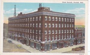 NORFOLK , Nebraska , 1910s ; Hotel Norfolk